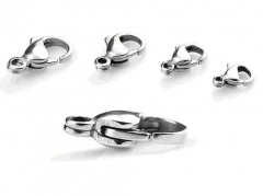 10 Pieces Stainless Steel Labster Clasps SPA-002A